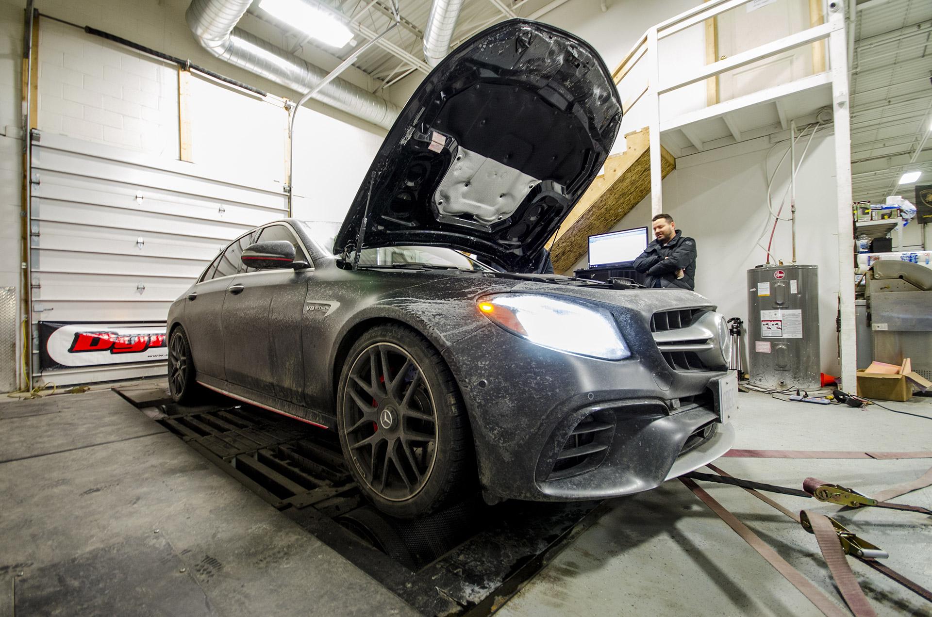 W213 E63s Stock Dyno Test - Eurocharged Canada